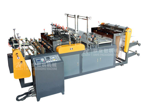DZB-400X2 Computer Control Double Line Printed Rolling Bag Making machine for Vest &Flat bags