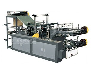 DZB-500/600/700/800 Computer Control Two-layer Rolling Bag-making Machine for Vest & Flat Bags