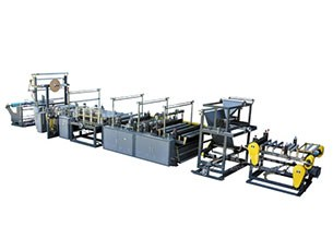 RXY-900/1100 Auto threading-rolling bag-making machine